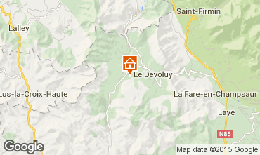 Map La joue du Loup Chalet 67162