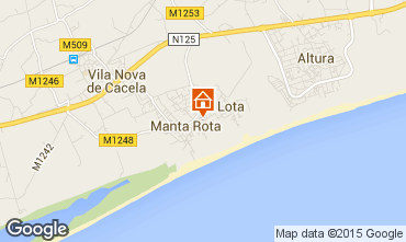 Map Manta Rota Apartment 49000