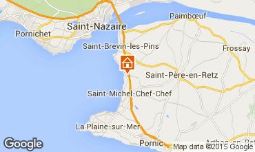 Map Saint Brevin les Pins Mobile home 95305
