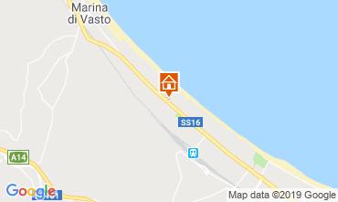 Map Vasto Apartment 118938