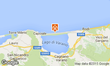 Map Gargano Apartment 33077