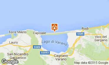 Map Gargano Apartment 33077