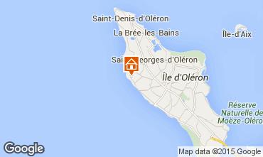 Map Saint Georges d'Ol�ron House 81421