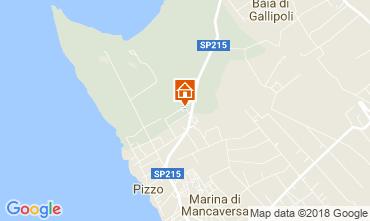 Map Marina di Mancaversa Villa 113760