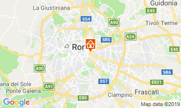Map Rome Apartment 116294