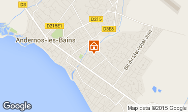 Map Andernos les Bains House 41686