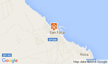 Map San Foca Apartment 90834