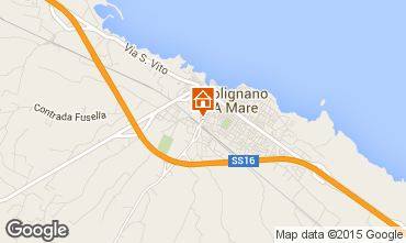 Map Polignano a Mare Apartment 100013