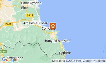 Map Port Vendres Apartment 107179