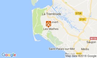 Map La Palmyre Mobile home 102386