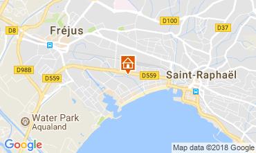 Map Fréjus Apartment 113928