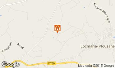 Map Locmaria-Plouzané Apartment 90722