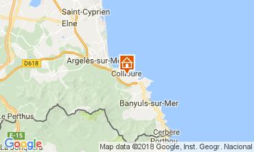 Map Collioure Apartment 113025