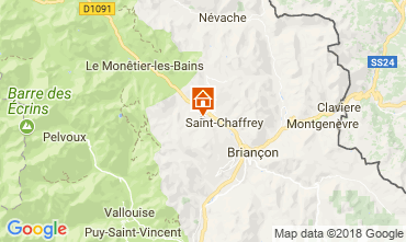 Map Serre Chevalier Chalet 114319