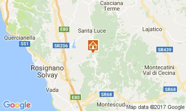 Map Castellina Marittima Villa 110282