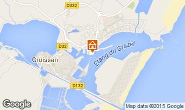 Map Gruissan Apartment 6298