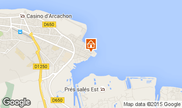 Map Arcachon Apartment 6626