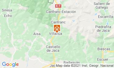 Map Jaca Apartment 70811