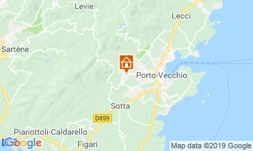 Map Porto Vecchio Apartment 117888