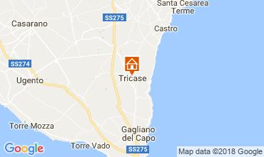 Map Santa Maria di Leuca Apartment 55406