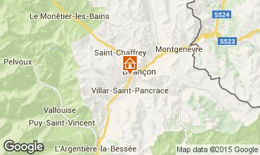 Map Briançon Chalet 495