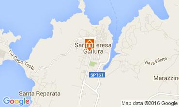 Map Santa Teresa di Gallura Apartment 104491