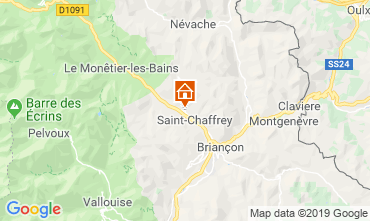 Map Serre Chevalier Chalet 118830