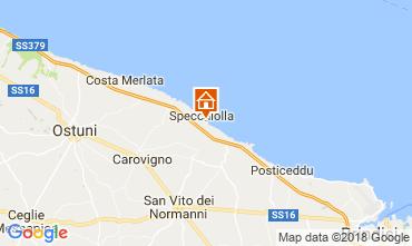 Map Ostuni Villa 87439