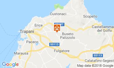 Map Castellammare del Golfo Villa 117096