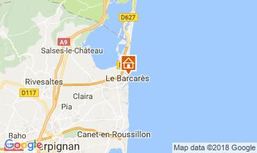 Map Le Barcares Villa 109671