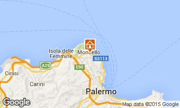 Map Mondello Apartment 28889