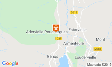 Map Loudenvielle House 74749