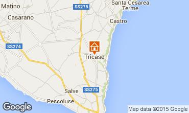 Map Tricase Apartment 101946