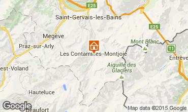 Map Chamonix Mont-Blanc One-room apartment 82530