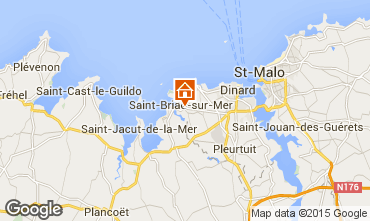 Map Saint Briac sur Mer Mobile home 91448