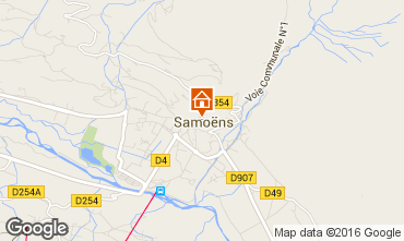 Map Samoëns One-room apartment 33547