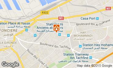 Map Casablanca Apartment 75111