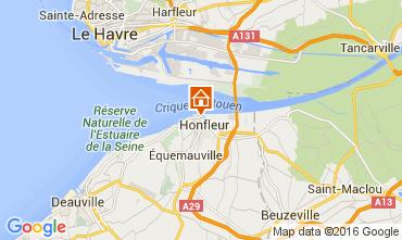 Map Honfleur Apartment 103646
