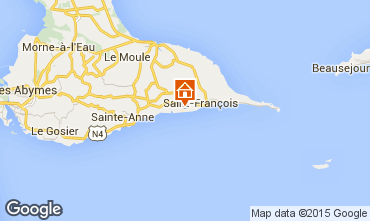 Map Saint Francois Villa 101259