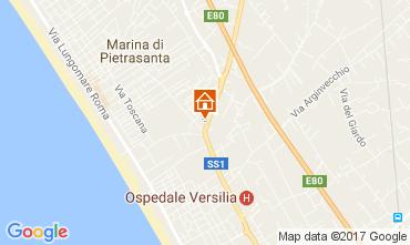 Map Pietrasanta Villa 108497