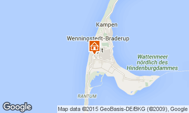 Map Westerland Apartment 25517