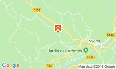 Map Nyons Villa 116959