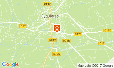 Map Eyguières House 112210