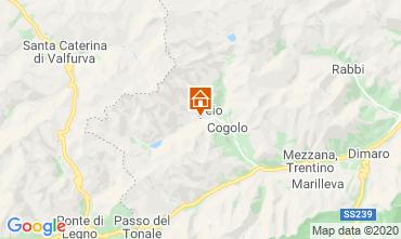 Map Peio (Pejo) Apartment 40599