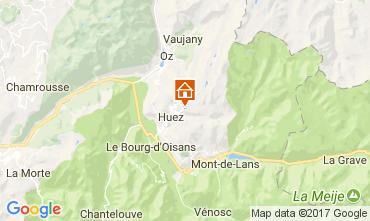 Map Alpe d'Huez Apartment 111769