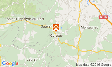 Map Anduze Villa 103766