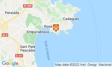 Map Rosas Apartment 72156