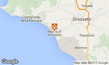 Map Marina di Grosseto Apartment 91947