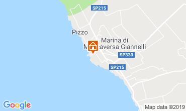 Map Marina di Mancaversa Apartment 52704