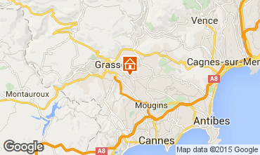 Map Grasse Apartment 11093